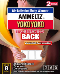 AMMELTZ YOKOYOKO Air-Activated Body Warmer for BACK