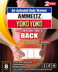 AMMELTZ YOKOYOKO Air-Activated Body Warmer for BACK